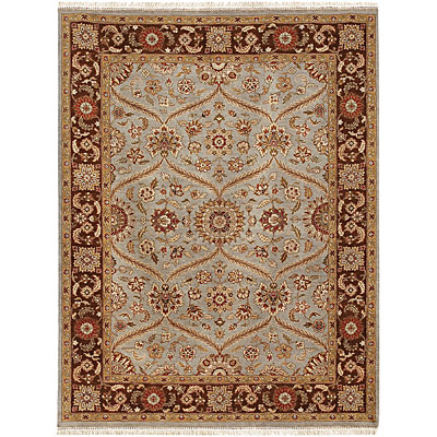 Jaipur Rugs Inc. Atlantis 8 x 10 Pani Ice Blue/Tobacco AL05