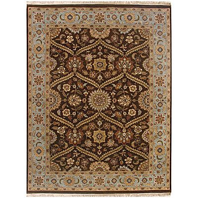Jaipur Rugs Inc. Atlantis 8 x 10 Pani Tobacco/Ice Blue AL06