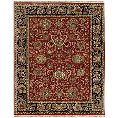Jaipur Rugs Inc. Atlantis 6 x 9 Shiva Red/Ebony AL08