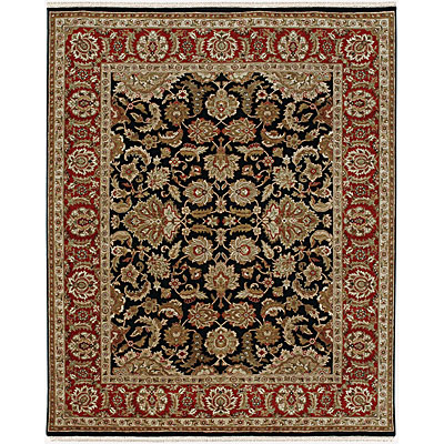 Jaipur Rugs Inc. Atlantis 8 x 10 Taj Ebony/Red AL12