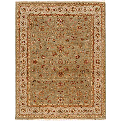 Jaipur Rugs Inc. Atlantis 8 x 10 Willow Sage Green Dark Ivory BT54971180