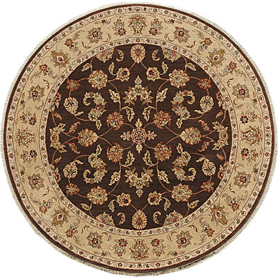 Jaipur Rugs Inc. Atlantis 6 Round Bhoomi Cocoa Brown/Sand