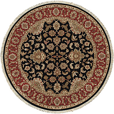 Jaipur Rugs Inc. Atlantis 10 Round Taj Ebony/Red AL12
