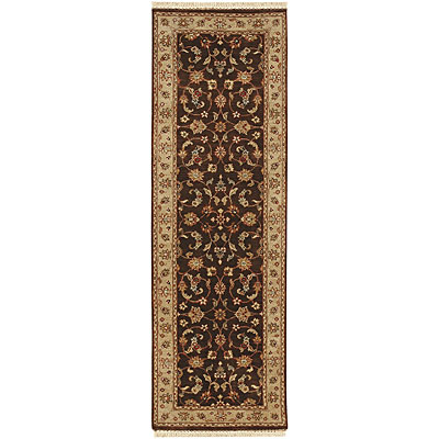 Jaipur Rugs Inc. Atlantis 2 x 12 Runner Bhoomi Cocoa Brown Sand BT32RN195121