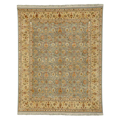 Jaipur Rugs Inc. Aurora 5 x 8 Celeste Medium Blue/Soft Gold AR01