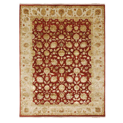 Jaipur Rugs Inc. Aurora 5 x 8 Nephi Medium Red/Medium Ivory AR12