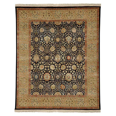 Jaipur Rugs Inc. Aurora 8 x 10 Isabel Ebony/Light Sand