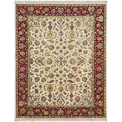 Jaipur Rugs Inc. Aurora 8 x 10 Edonia Medium Ivory Red