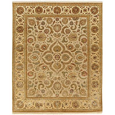 Jaipur Rugs Inc. Aurora 8 x 10 Kaimi Medium Ivory Light Gold