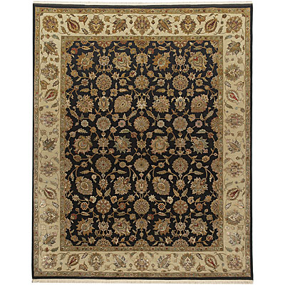 Jaipur Rugs Inc. Aurora 8 x 10 Nephi Ebony Light Gold