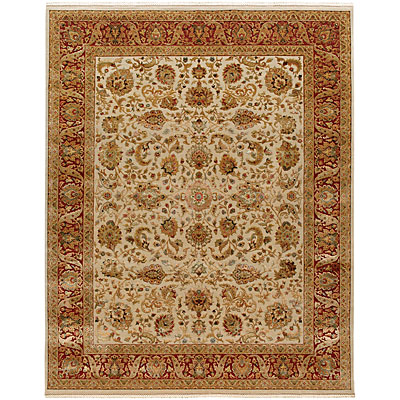 Jaipur Rugs Inc. Aurora 5 x 8 Sonja Medium Ivory Red AR08