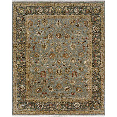 Jaipur Rugs Inc. Biscayne 8 x 10 Amelie Ice Blue Sea Green SPR11979963