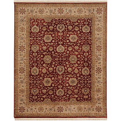 Jaipur Rugs Inc. Biscayne 6 x 9 Tessa Brick Red/Beige BS09