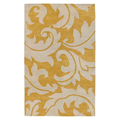 Jaipur Rugs Inc. Blue 5 x 8 Aloha Golden Apricot/Antique White BL08