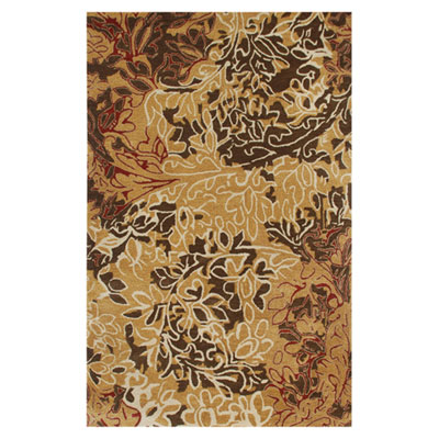 Jaipur Rugs Inc. Blue 4 x 6 Hedgerow Dark Amber Gold/Dark Amber Gold BL13
