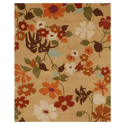 Jaipur Rugs Inc. Blue 4 x 6 Fresh Picked Beige/Beige BL22