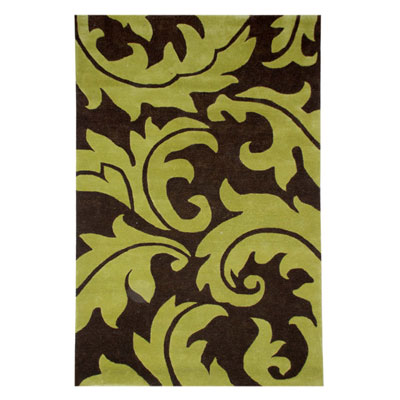 Jaipur Rugs Inc. Blue 8 x 11 Aloha Java/Oasis Green BL10