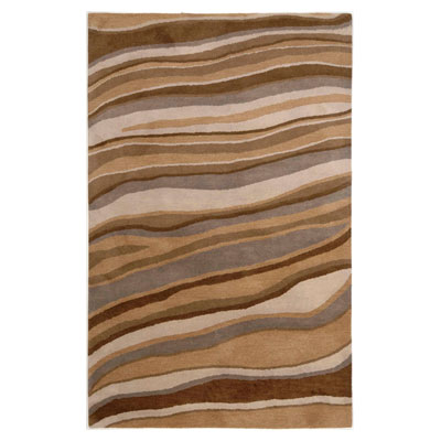 Jaipur Rugs Inc. Coastal Living Hand-Tufted 4 x 6 Dunes Drift Oyster/Oyster