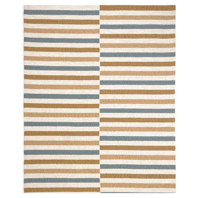 Jaipur Rugs Inc. Coastal Living Indoor-Outdoor 8 x 10 Line Dance Beige/Beige CI03