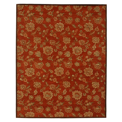 Jaipur Rugs Inc. Dhalia 6 x 9 Camellia Red Orange/Red Orange DH01