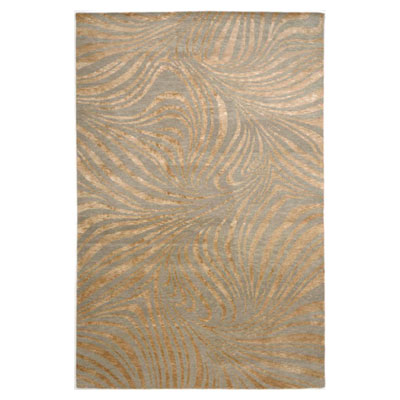 Jaipur Rugs Inc. Earth 8 x 11 Rivers Swirl Fog/Fog ER02