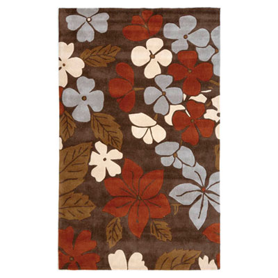 Jaipur Rugs Inc. Fusion 8 x 10 Polynesian Punch Brown/Rust FN04