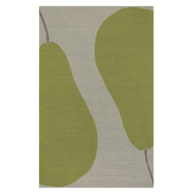 Jaipur Rugs Inc. Grant Design Indoor/Outdoor 4 x 6 Au Pear Beige/Green GD06