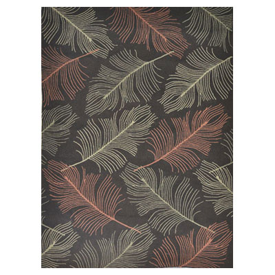 Jaipur Rugs Inc. Grant Design Indoor/Outdoor 8 x 10 Light as a Feather Chocolate/Chocolate GD08