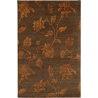 Jaipur Rugs Inc. J2 6 x 9 Anna Purna Dark Brown/Dark Brown J202