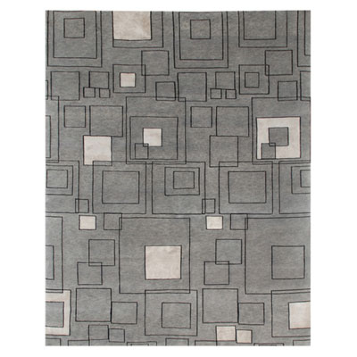 Jaipur Rugs Inc. J2 8 x 11 Jali Medium Gray/Ebony