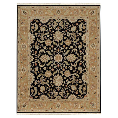 Jaipur Rugs Inc. Jaimak 8 x 10 Lerik Ebony/Ginger Brown JM03
