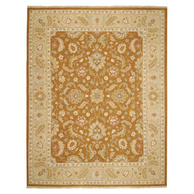 Jaipur Rugs Inc. Jaimak 8 x 10 Lerik Ginger Brown/Sand JM04