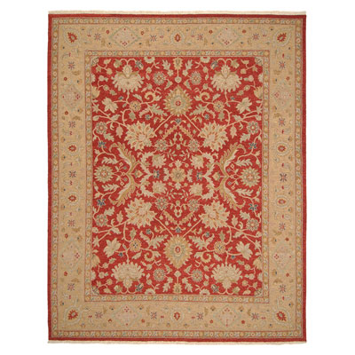 Jaipur Rugs Inc. Jaimak 9 x 12 Kolos Red Maize JM08