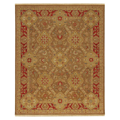 Jaipur Rugs Inc. Jaimak 9 x 12 Samarka Gold Brown/Red JM10