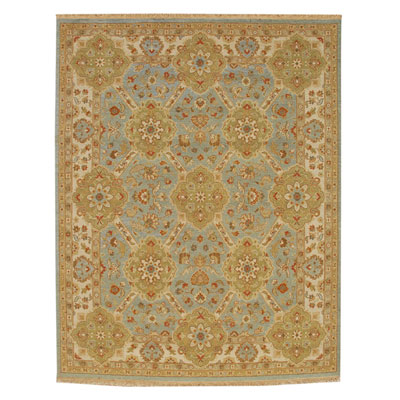 Jaipur Rugs Inc. Jaimak 8 x 10 Samarka Medium Blue/Soft Gold JM11