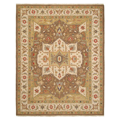 Jaipur Rugs Inc. Jaimak 10 x 14 Lachin Cocoa Brown/Soft Gold JM15