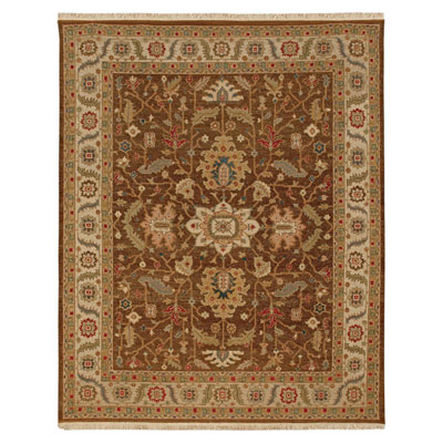 Jaipur Rugs Inc. Jaimak 9 x 12 Margara Cocoa Brown/Soft Gold JM16