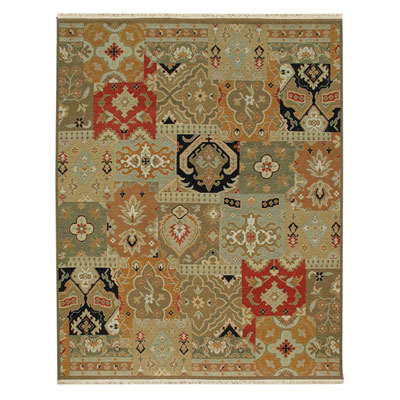 Jaipur Rugs Inc. Jaimak 6 x 9 Nabran Ebony/Red