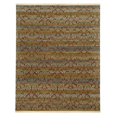 Jaipur Rugs Inc. Le Reve 6 x 9 Lust Wood Brown/Wood Brown RV05