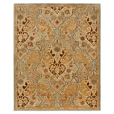 Jaipur Rugs Inc. Lotus 8 x 11 Dafo Sea Blue/Ice Blue LT01