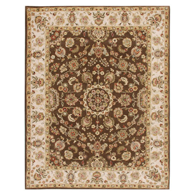 Jaipur Rugs Inc. Mythos 5 x 8 Maia Cocoa Brown/Dark Ivory MY01