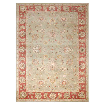 Jaipur Rugs Inc. Mythos 8 x 10 Anthea Kelp/Brick Red MY05