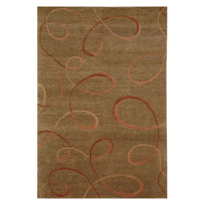 Jaipur Rugs Inc. Namaste 4 x 6 Aerial Indian Brown/Indian Brown NM02