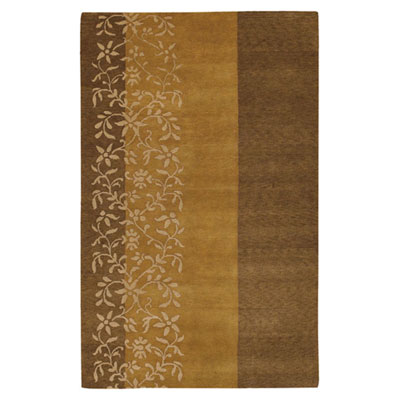 Jaipur Rugs Inc. Namaste 4 x 6 Apothecary Gold Brown/Dark Amber Gold NM06