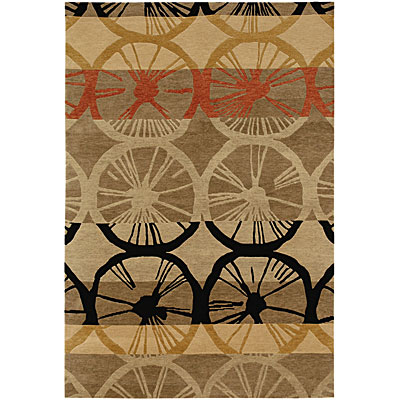 Jaipur Rugs Inc. Namaste 4 x 6 Velo Gray Brown/Gray Brown NM04
