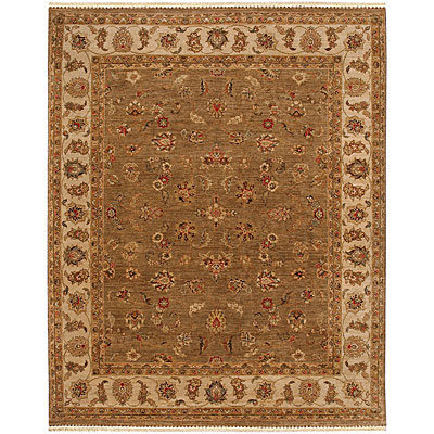 Jaipur Rugs Inc. Opus 10 x 14 Caymus Gray Brown/Soft Gold OP01
