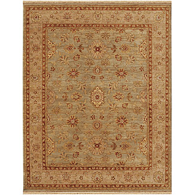 Jaipur Rugs Inc. Opus 4 x 6 Fleur Grape Green/Dark Ivory OP03