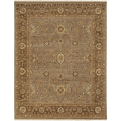 Jaipur Rugs Inc. Opus 4 x 6 Fleur Lead Gray/Gray Brown
