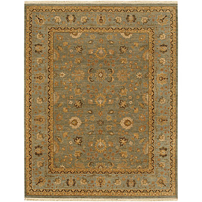 Jaipur Rugs Inc. Opus 4 x 6 Gigue Sea Green/Blue OP07