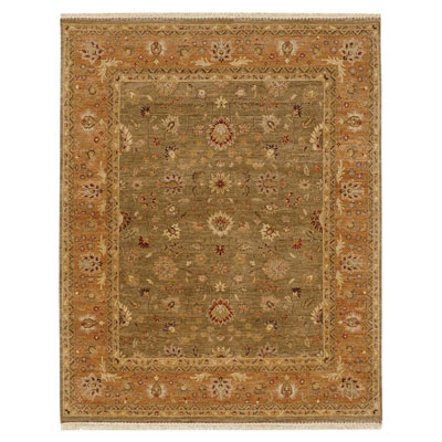 Jaipur Rugs Inc. Opus 10 x 14 Gigue Gray Brown/Caramel OP05